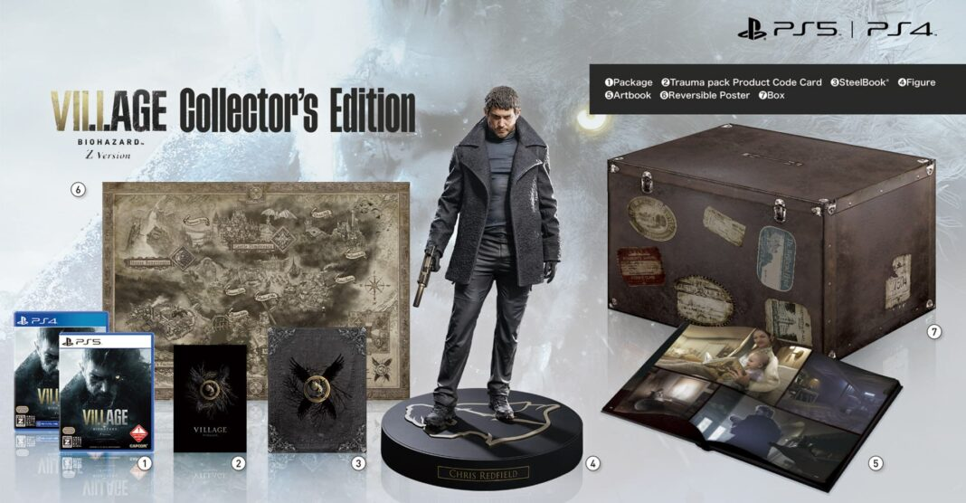 Resident Evil: Village collector edition