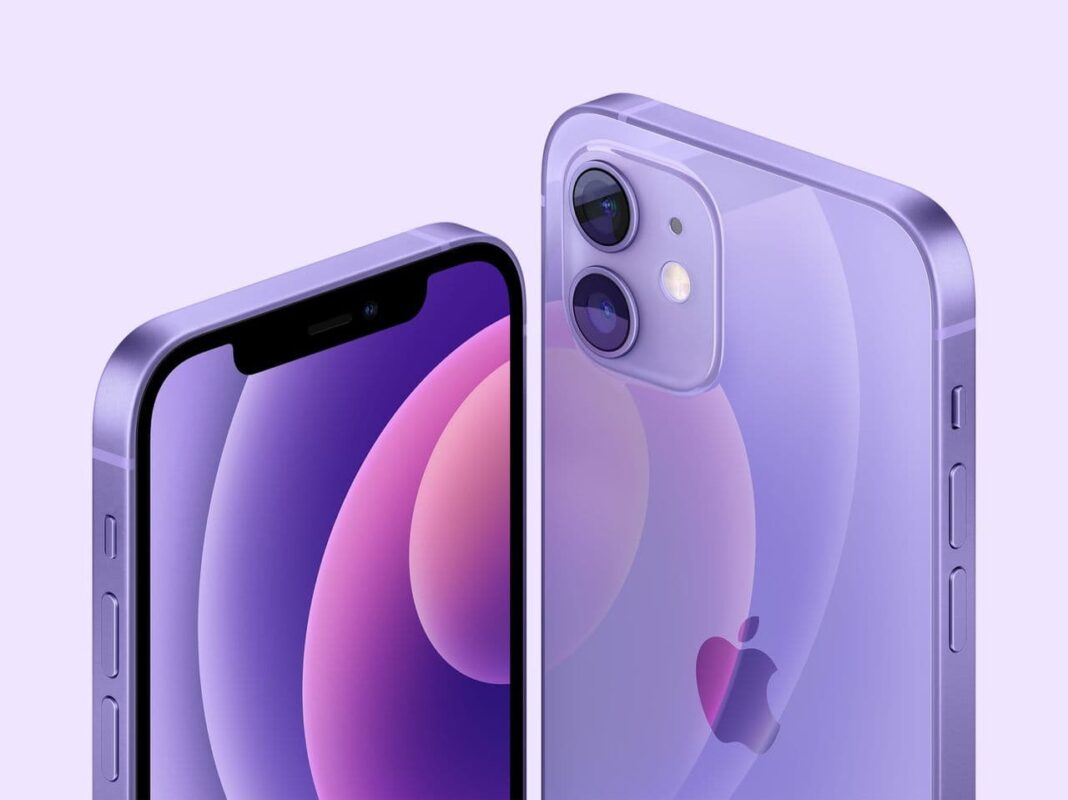 Apple iPhone 12 purple