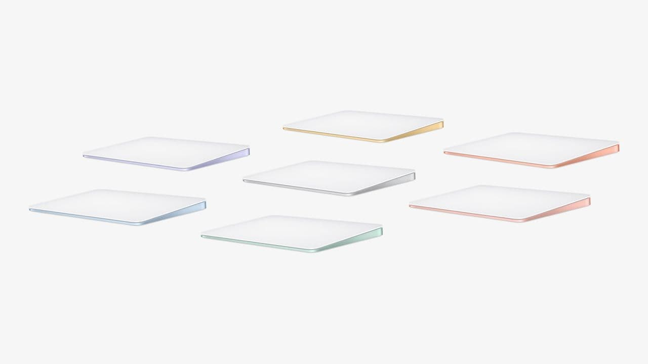 Apple Magic trackpad color