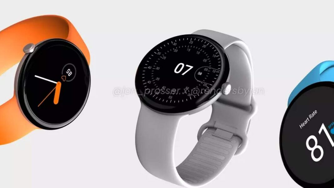 Google Pixel Watch leak